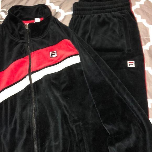 Fila velour tracksuit for men!